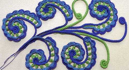 техника вязания ирландского кружева блог акуна матата вышивка