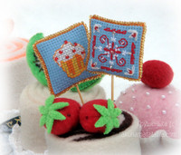 Вышивка. Новогодние украшения на праздничный стол. Схема Катерины Шлыковой