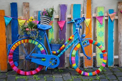 Велосипед с рукодельными идеями
